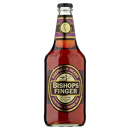 Shepherd Neame évêques Finger Ale Forte 500ml (Pack de 8 x 500 ml)