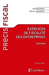 Exercices de fiscalité des entreprises 2017/2018