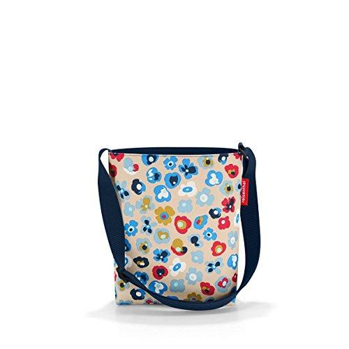 reisenthel shoulderbag S millefleurs  Maße: 29 x 28,5 x 7,5 cm / Volumen: 4,7 l (Schulter-handtasche Kleine)