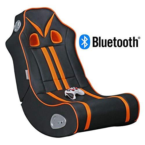 Avanti Trendstore - Gamer - Soundsessel aus Kunstleder mit Surround-Lautsprechern und Subwoofer, ideal fürs Gaming, Heimkino und Musik. Maße: BHT 56x100x82 cm