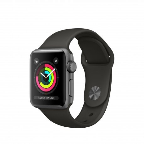Apple Watch Series 3 OLED GPS (satélite) - Reloj inteligente (OLED, Pantalla...