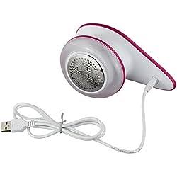 Fancylande Rasoir Anti-Bouloche/Anti-Peluche USB Rechargeable Portable Double Protection pour Vêtements Enlever les Bouloches Peluches petites boules des Fibres Rapidement et Efficacement