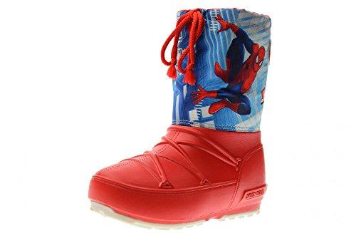 Moon Boot Junior-POD JR Spiderman 34020800001 rot-blau Größe 35-36 Rot/blau