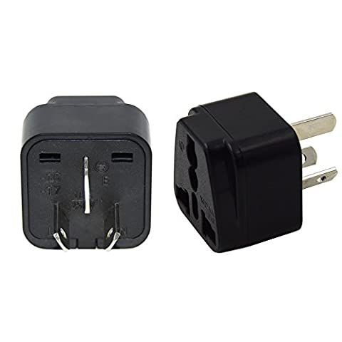 UK to Australia Power Adaptor,UK to China Adaptor Plug for visitors from UK to Australia, China and New Zealand (Pack of 2)