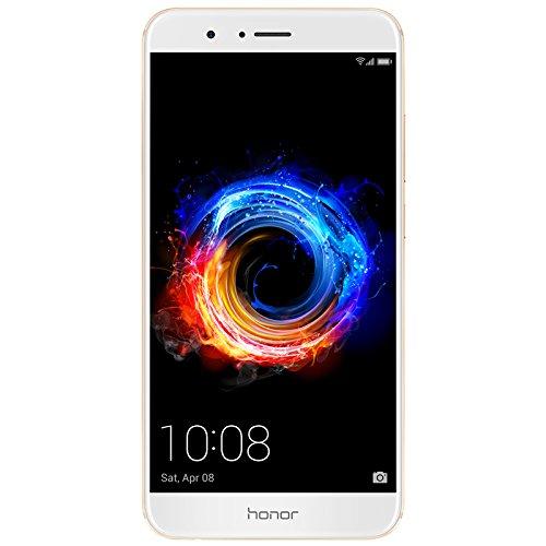 Honor 8 Pro gold Dual-SIM Android 7.0 Smartphone mit Dual-Kamera