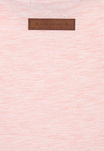 Naketano Female Shortsleeve Schnella Baustella III candy muschi melange