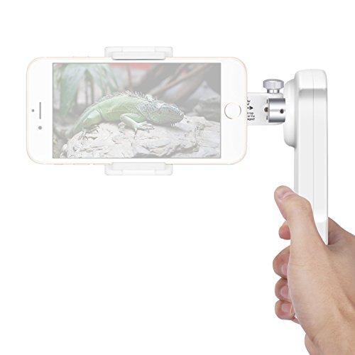 Neewer NW-2AG200 Gimbal Stabilizzatore 2 Assi Portatile per Smartphone con Schermo Massimo 5,5 Pollici, ad Esempio iPhone 7 Plus 7 6s 6s Plus Samsung S5 S6 Edge Plus YotaPhone Xiaomi Huawei e Così Via