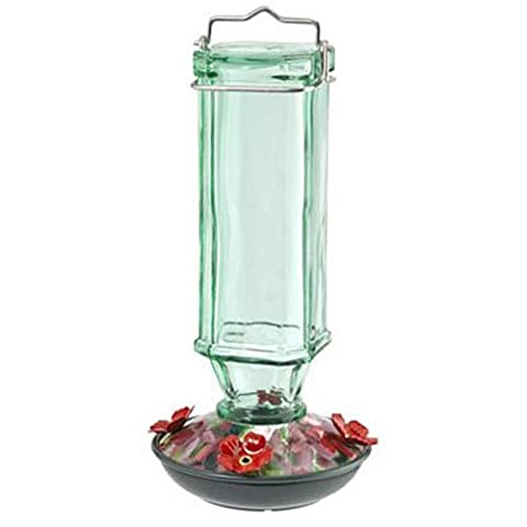 WOODLINK - Bird Feeder, Hummingbird, Vintage Square, Green,