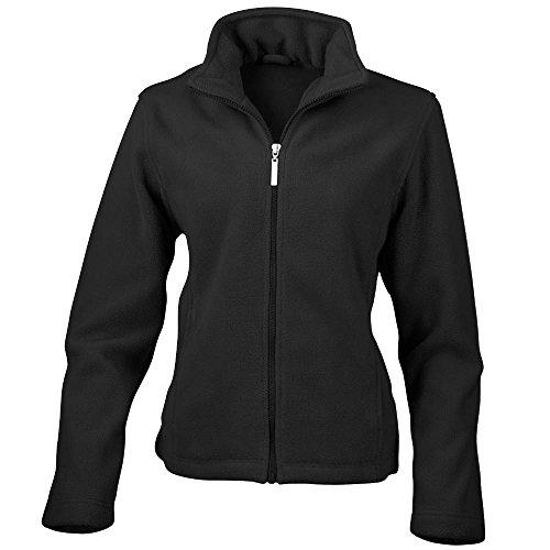 Result - Damen Fleece-Jacke 'Microfleece' XS,Black