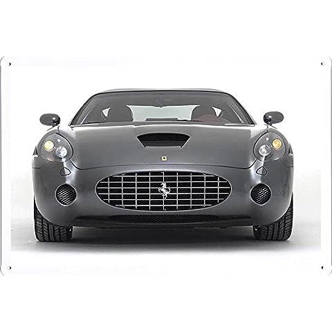 metallo manifesto piatto decorazione della parete Targa in metallo by auto sign (20*30cm) - A-CAR10271