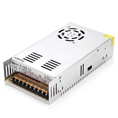 12V 33A 400W power transformer, voltage transformer, power supply for LED strips S-400-12 12 V power supply