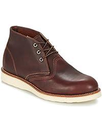 RED WING Work Chukka Botines/Low Boots Hombres Aceite Botas de caña Baja