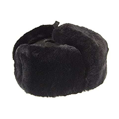 City Sport Leningrad Lambskin Cossack Hat - Black Mix