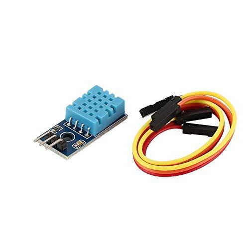 Lynn025Keats DHT11 Temperatur und relativer Feuchte-Sensor Single Bus Digitalmodul -