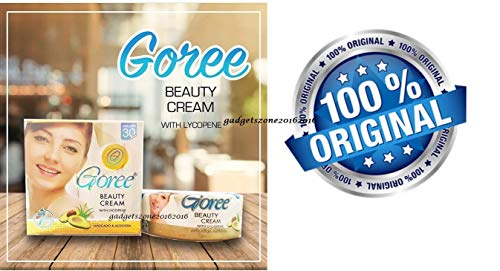 GOREE WHITENING BEAUTY CREAM from PAKISTAN H PHARMACY(Guaranteed 100% Original with Gadgetszone)