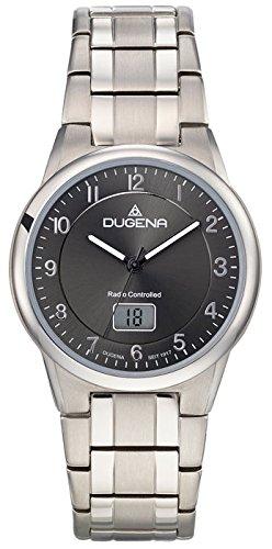 Dugena Men's Analogue Quartz Watch with Titanium Strap 4460835
