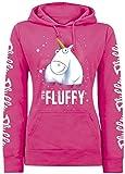 MINIONS Einhorn - It's So Fluffy Bubbles Kapuzenpullover pink XS