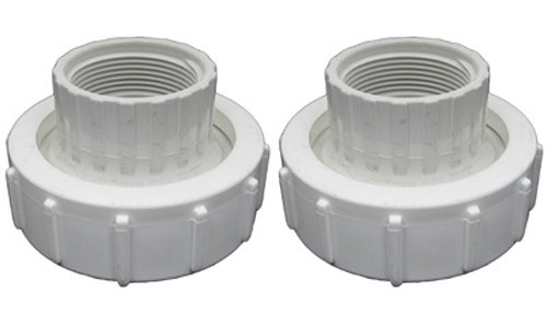 Pentair 77703–0100 1–1/2 FPT Adapter Hälfte Union Ersatz Kit Pool/Spa Filter, Pumpe und Ventil (Union Fpt)