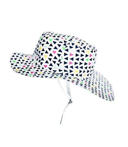 Ki ET LA Gorro Reversible 100% Anti UV Chapeau De Cowboy, Multicolore/Fun Fair, 50-52 cm Bébé garçon