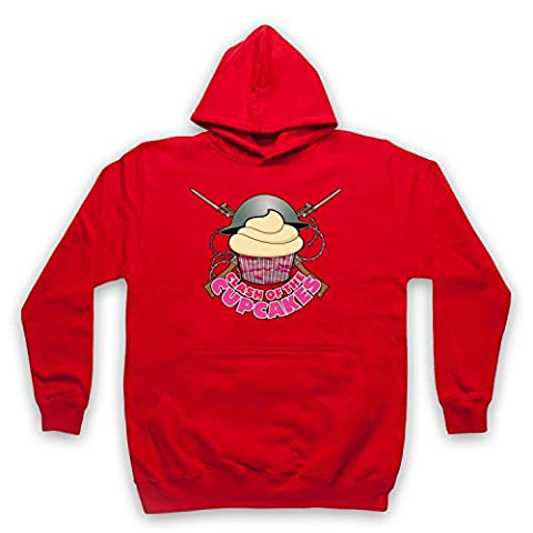 Master Of None Clash Of The Cupcakes Adults Hoodie, Red, Small
