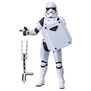 Star Wars- The Black Series First Order Stormtrooper, Multicolor (Hasbro E7519ES0)