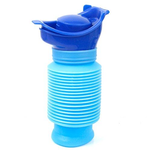 faltbare toilette FireAngels Notfall Urinal, Portable Mini Outdoor Camping Reisen Persönliche faltbare mobile Toilette Töpfchen Urinflasche für Kinder Erwachsene (750 ML)