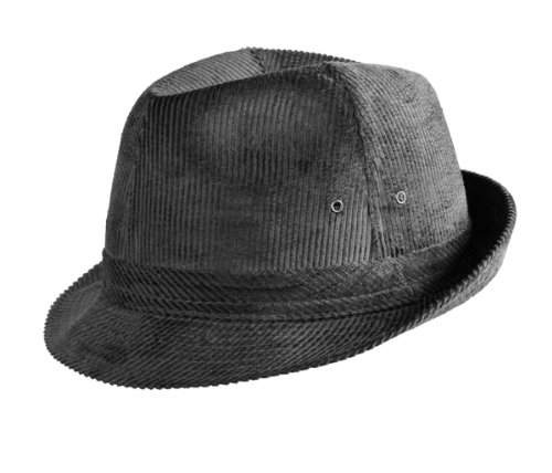 Herren Headwear - Chapeau fedora - Homme - Gris - 55