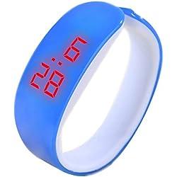 Youdong Bracelet d'affichage numérique LED Watch Dolphin Young Fashion Sports Bracelet Montre Connectée Etanche Bracelet Sport Connecté Podomètre Fitness Tracker d'Activité Smartwatch