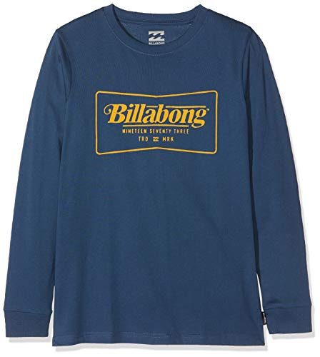 BILLABONG Jungen TRD MRK LS Tee Boy T-Shirt, Dark Blue, 8 -