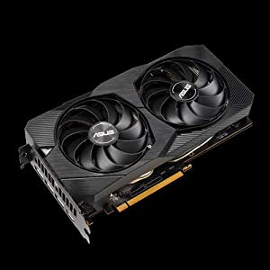 ASUS Dual AMD Radeon RX5500 XT 4GB EVO OC Edition Gaming Grafikkarte (GDDR6 Speicher, PCIe 3.0, 1x HDMI 2.0b, 3x DisplayPort 1.4, DUAL-RX5500XT-O4G-EVO)