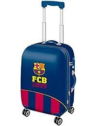 Karactermania Fc Barcelona Legend Equipaje de Mano, 54 cm, 35.5 Litros, Azul