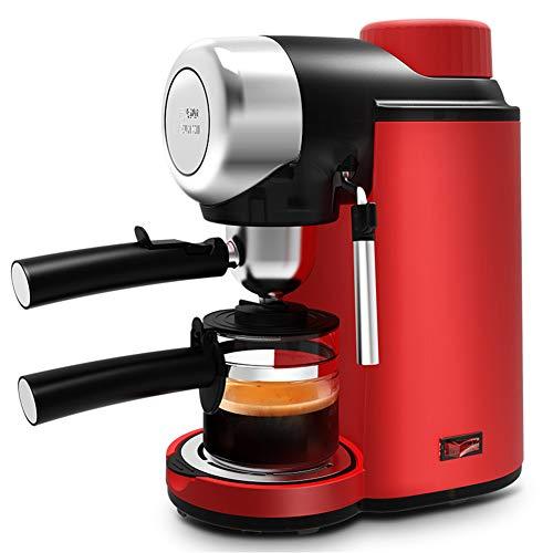 YSCCSY Elektro-Espresso-Kaffeemaschine Halbautomatische Italienische Kaffeemaschine Hochdruck-Dampf 5Bar Cappuccino Froth Milchschaum