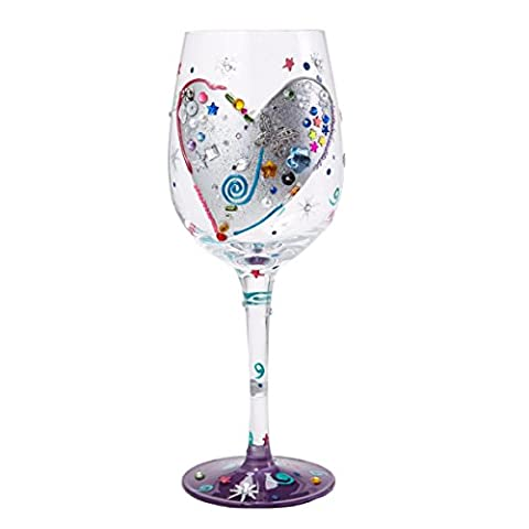 Lolita Wine Glass - Silver Lining