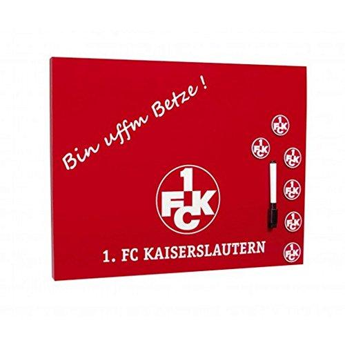 1. FCK - Pinnwand - Memoboard - Magnettafel - 1. FC Kaiserslautern