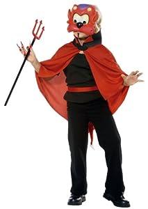 César - Disfraz de diablo para niño, talla 7 años (G920-001)
