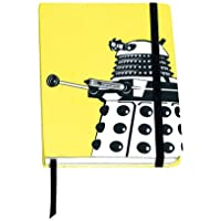 Doctor Who A6 Dalek Home Notebook - Yellow