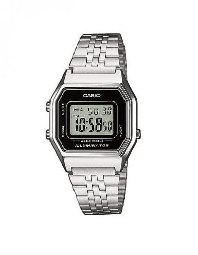 Casio Collection Damen Retro Armbanduhr LA680WEA-1EF