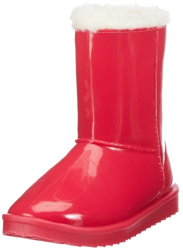 Nat-2  Rain Sheep, Bottes à enfiler femme Rouge - Rot (red)
