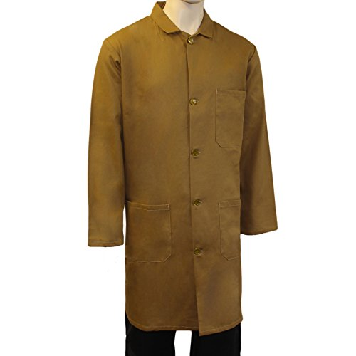 Price comparison product image WSC Workwear Khaki Warehouse Unisex Coat - Fastened with 5 Buttons,  Back Vent for Ease of Movement (XXX-Large)