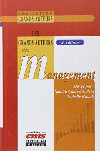 Les grands auteurs en management