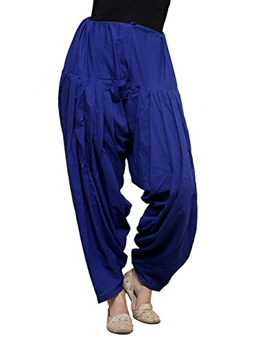 I Shop Women\'s Kurta(PATIALA-SALWAR-01234_Blue_40)