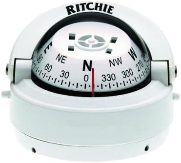 Ritchie Navigation 128-S53W Compás Explorer Superficie, Negro, Talla Única
