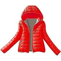 Geili Damen Winter Jacke Steppjacke Winterjacke Gesteppt Parka Daunenjacke mit Kapuze Frauen Einfarbige Warme... preisvergleich bei billige-tabletten.eu