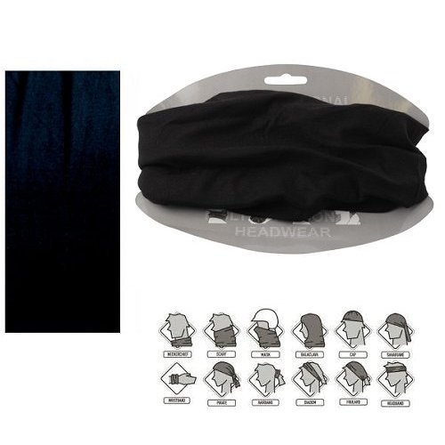 dreadz-12-in-1-multi-function-tubular-headband-headwear-black-plain