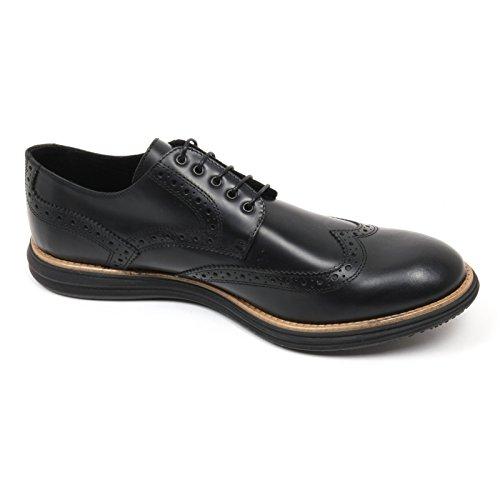 C3716 scarpa inglese uomo GOLD BROTHERS scarpe nero shoe man Nero
