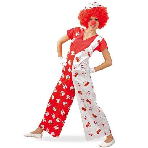 Kostüm Köln Rot Weiß Herren - PARTY DISCOUNT NEU Damen & Herren-Kostüm