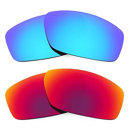 Revant Ersatzlinsen für Spy Optic Dirty Mo Polarisiert 2 Paar Kombipack K005