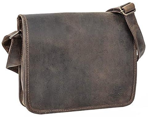 Gusti Leder studio Genuine Leather Shoulder Bag Satchel Messenger Casual