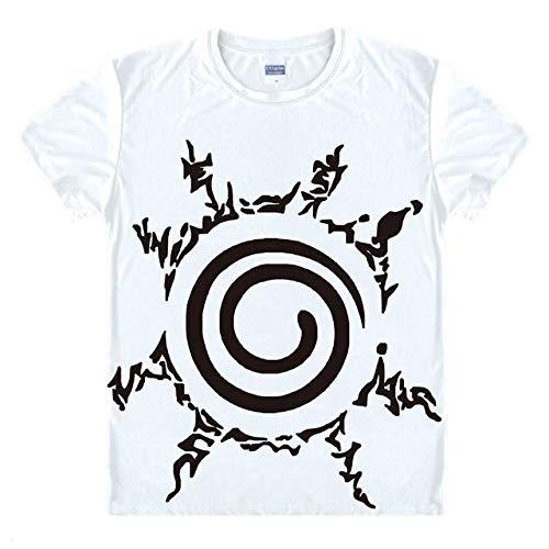 TWQOFV Camisetas Hombre Grupos Rock Naruto Anime Camiseta
