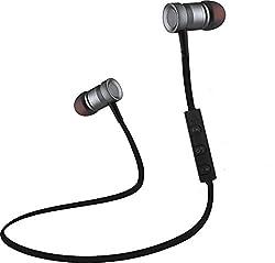 Envent LiveTune 500 Wireless Bluetooth Earphone with Magnetic Locking Design (Grey)